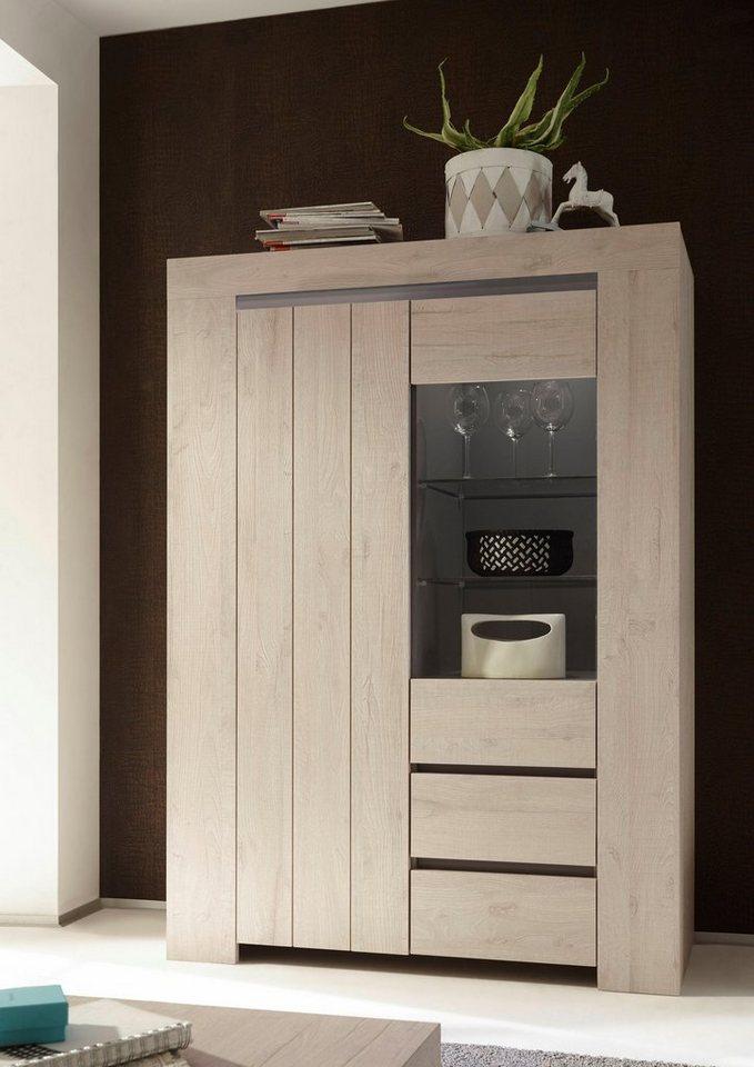 lc palmira stauraumvitrine h he 170 cm kaufen otto. Black Bedroom Furniture Sets. Home Design Ideas