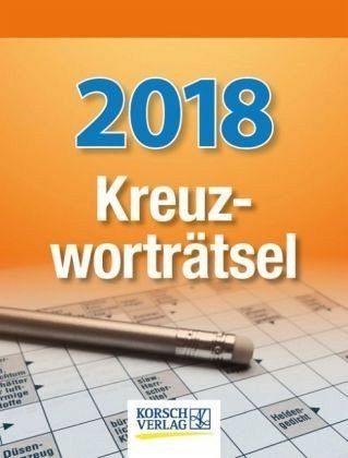 Kalender »Kreuzworträtsel 2018 Tages-Abreisskalender«