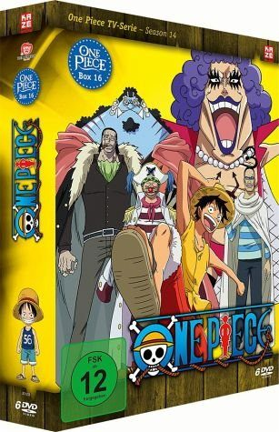 DVD »One Piece - Die TV Serie - Box Vol. 16 (6 Discs)«