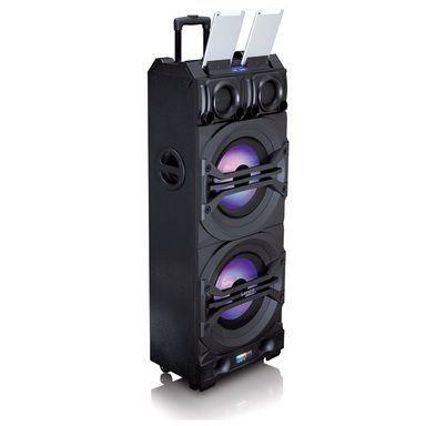 lenco tragbares soundsystem mit bluetooth usb fm radio partylicht pmx 350 online kaufen otto. Black Bedroom Furniture Sets. Home Design Ideas