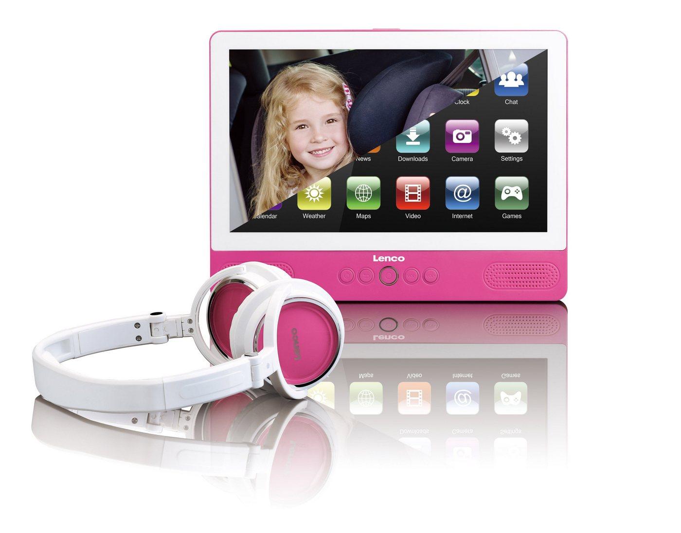 Lenco Tragbarer DVD-Player  und  Tablet-Funktion, 9 Touch-Screen  und  WiFi »TDV-900« - Preisvergleich