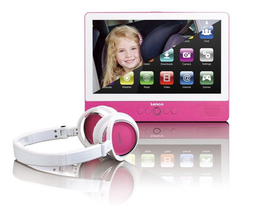 lenco tragbarer dvd player tablet funktion 9 touch. Black Bedroom Furniture Sets. Home Design Ideas