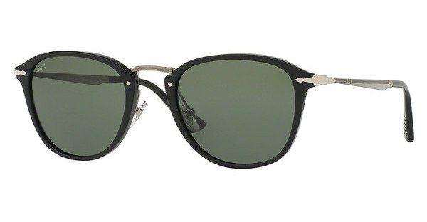 PERSOL Persol Herren Sonnenbrille » PO3157S«, schwarz, 95/31 - schwarz/grün