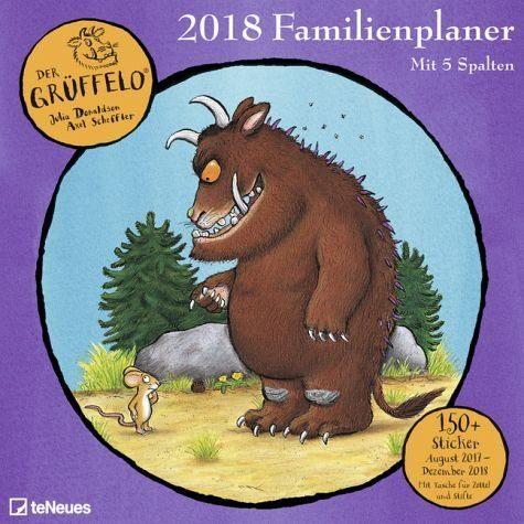 Kalender »Der Grüffelo Familienplaner 2018«