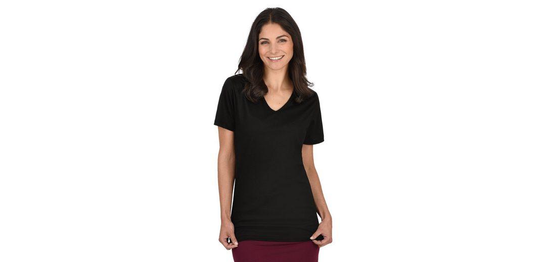 TRIGEMA V-Shirt aus 100% Biobaumwolle Kaufen Online-Verkauf Billig Verkauf Große Diskont diWl7dgm