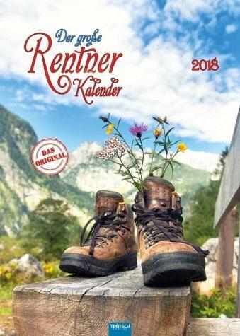 Kalender »Der große Rentnerkalender 2018 - Das Original«