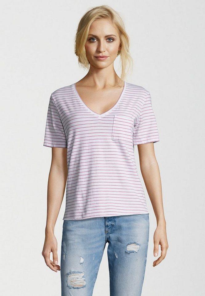 Better Rich T-Shirt »VNECK POCKET STRIPE« kaufen