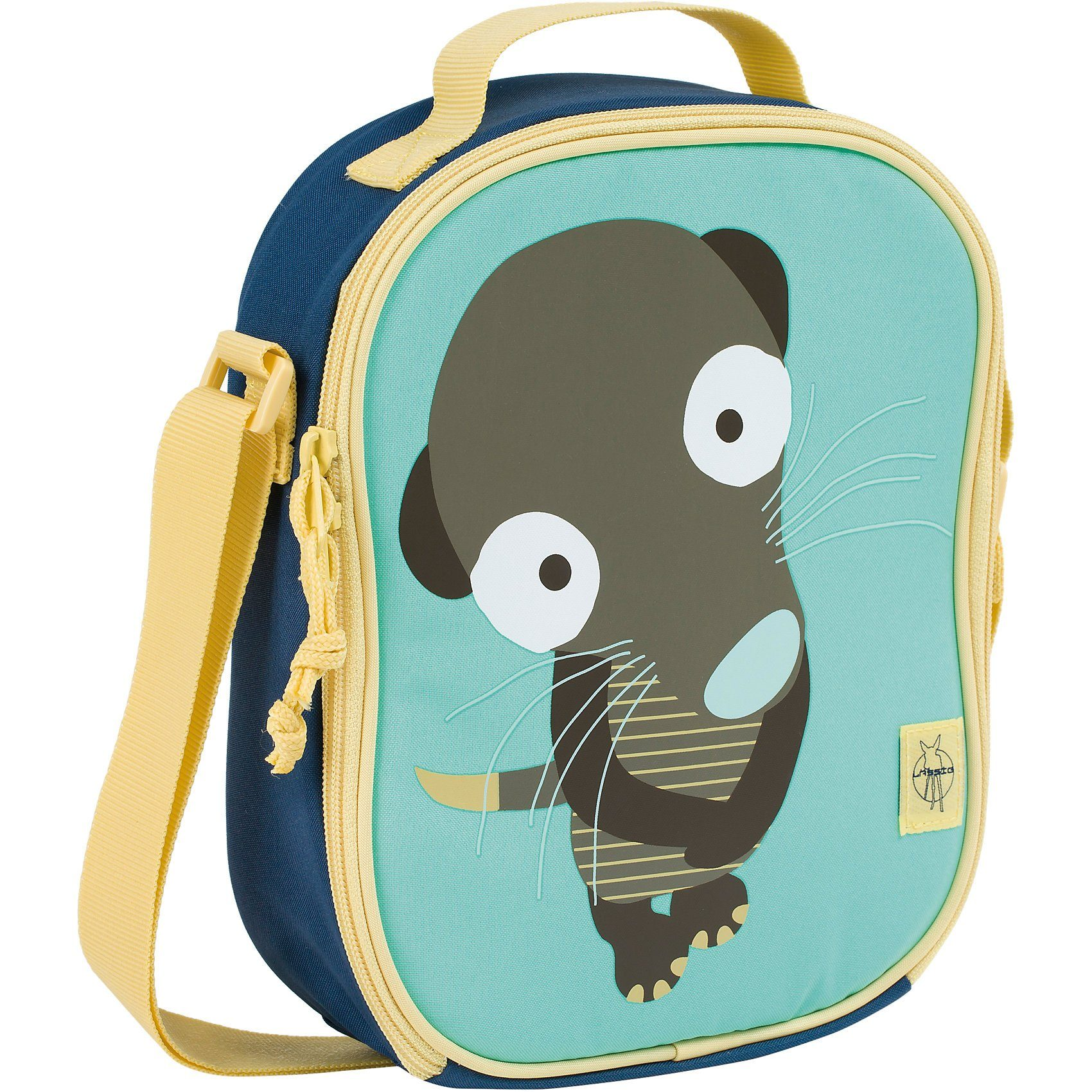 Lässig Kindergartentasche 4kids, Mini Lunchbag, Wildlife Meerkat