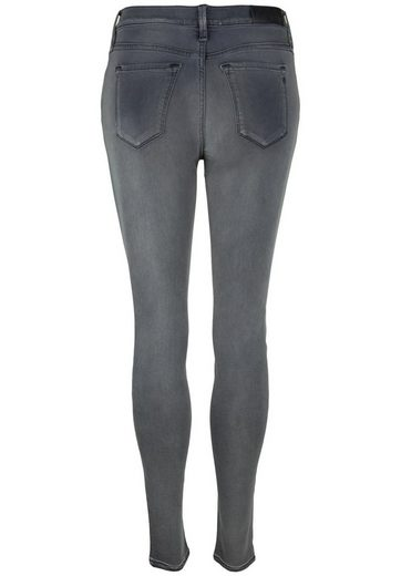 Replay 5-pocket-jeans Touch High Waist, Slimming Effect By Wrinkle Prevention Of Buttocks And Knees