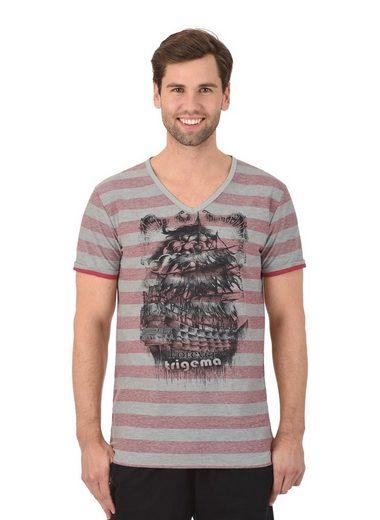 Trigema Ringel-Shirt Slim-Fit