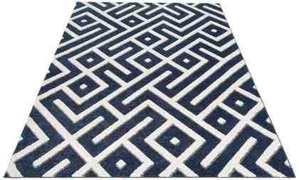Teppich »Dina«, my home, rechteckig, Höhe 20 mm