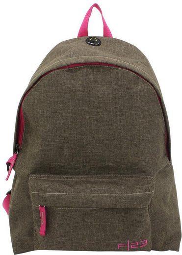 F23™ Rucksack, »Two-Tone braun/pink«
