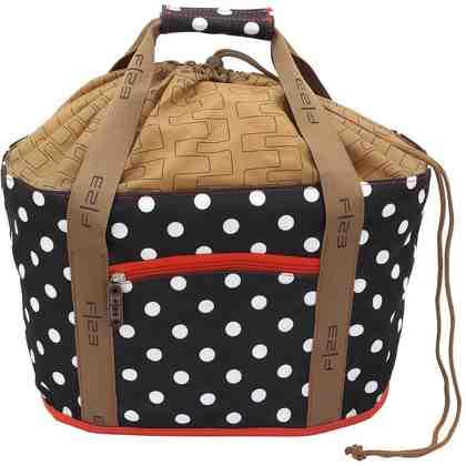 F23™ Einkaufskorb, »Shoppers Delight Polka Dots«
