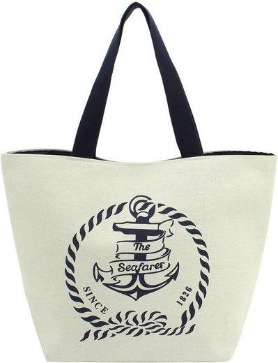 Olomolo Shopper »Maritim Design Anker«