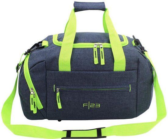 F23™ Reisetasche »Two-Tone, marine/grün«, klein