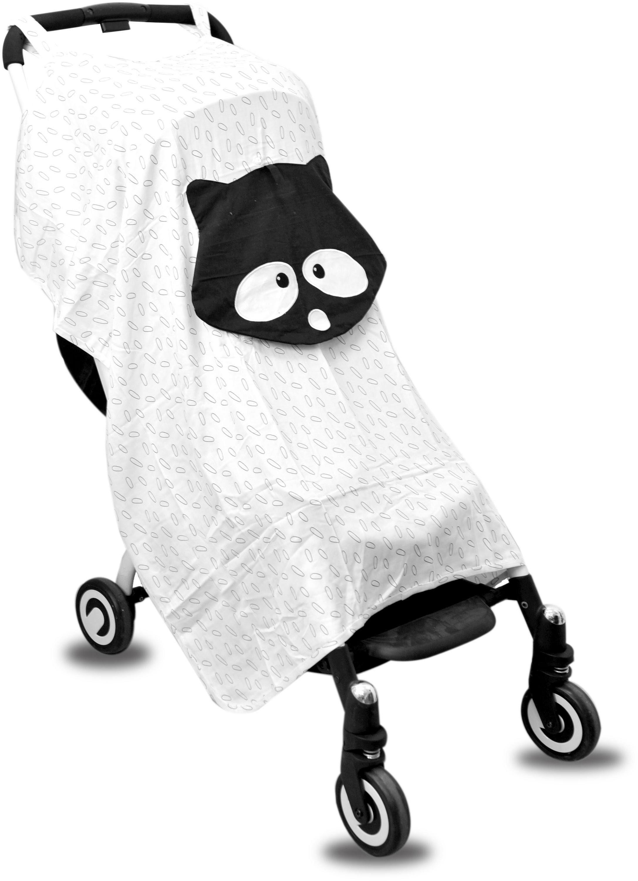 SmarTrike® Zubehör für den Buggy, »toTs Bambus Buggy Sonnenschutz Waschbär«