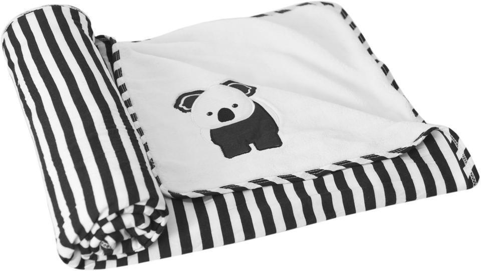 Kinderdecke »toTs Bambus Wendedecke Koala«, smarTrike® | Kinderzimmer > Textilien für Kinder > Kinderbettwäsche | Weiß | Viskose - Bambus - Baumwolle - Polyester | smarTrike®