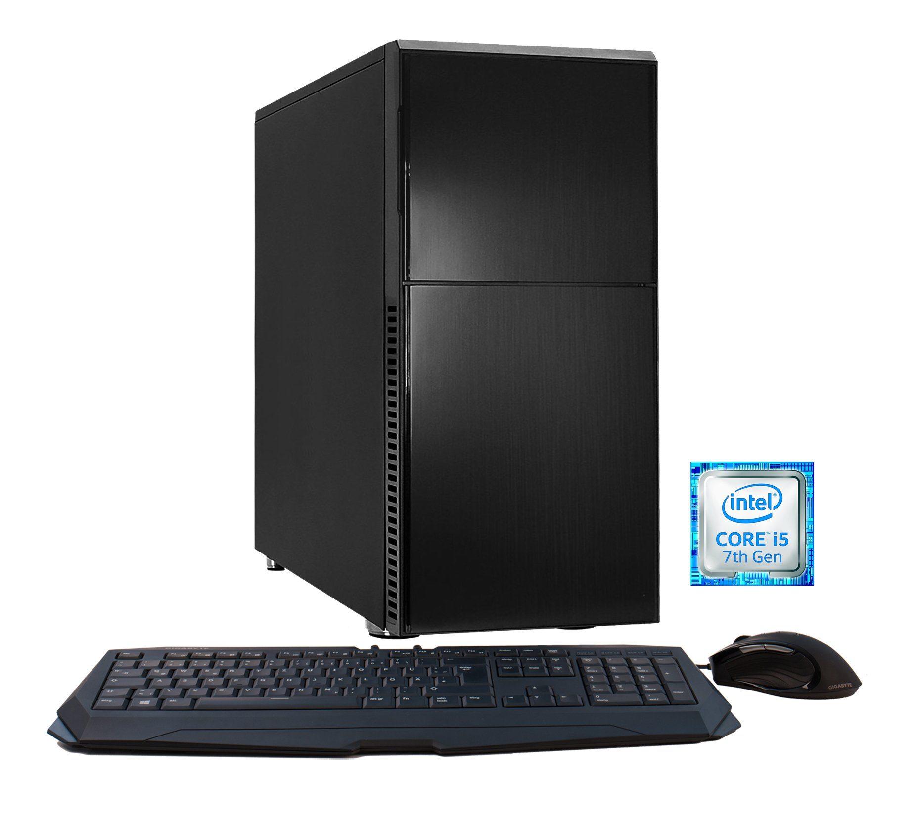 Hyrican PC Intel® i5-7600K, 16GB, GeForce GTX® 1060 »DeepSilence 5597«
