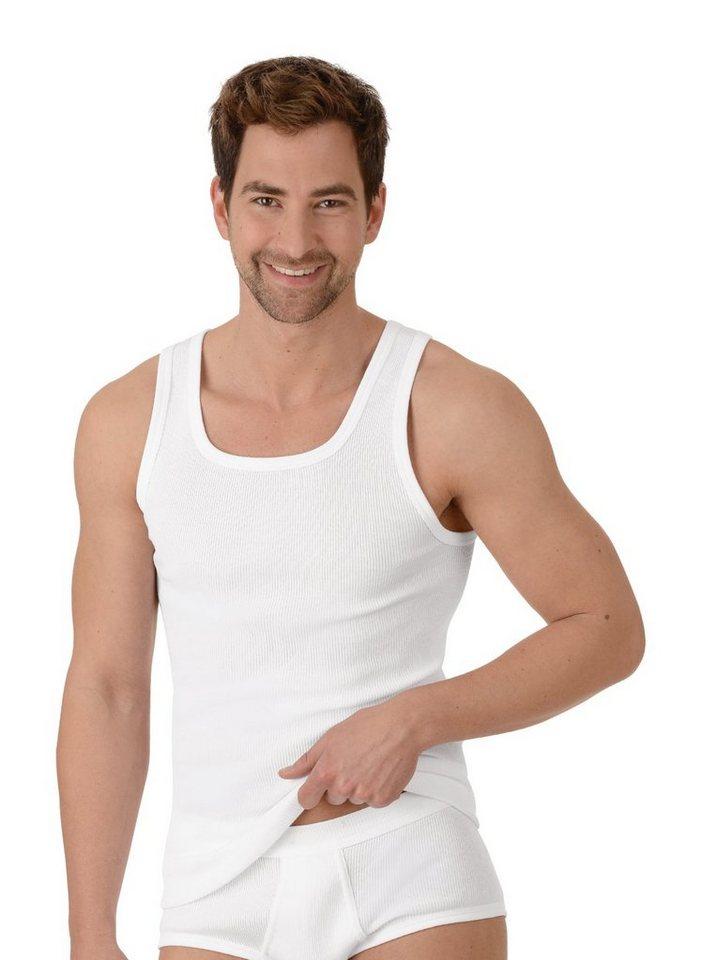 trigema -  Unterhemd Doppelripp im Doppelpack