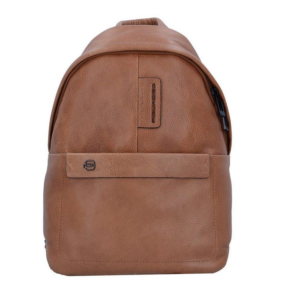 f8e0c67e4e391 Piquadro Pulse Plus Rucksack Leder 33 cm Laptopfach online kaufen