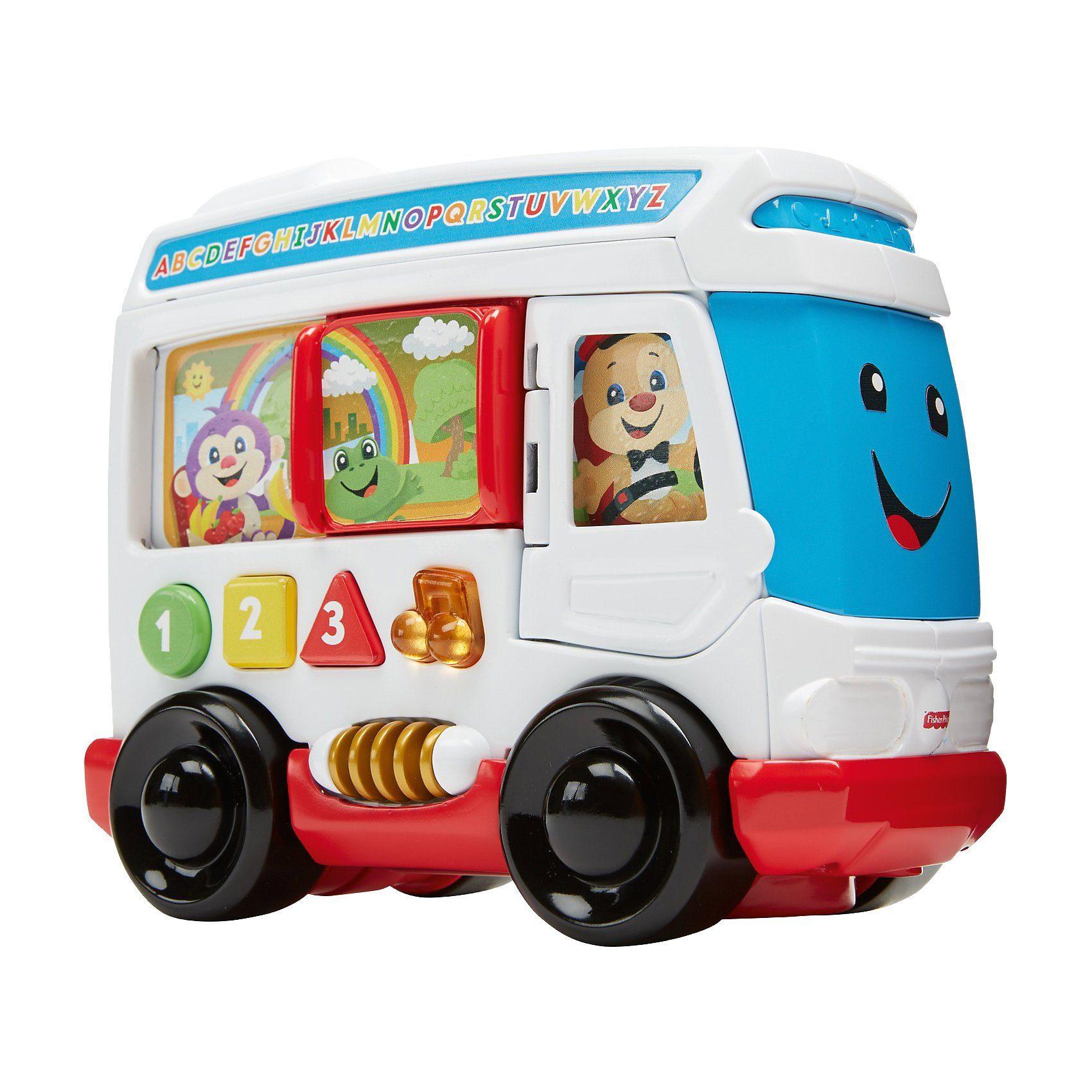 Mattel® Fisher-Price Lernspaß Hündchens Stadtbus