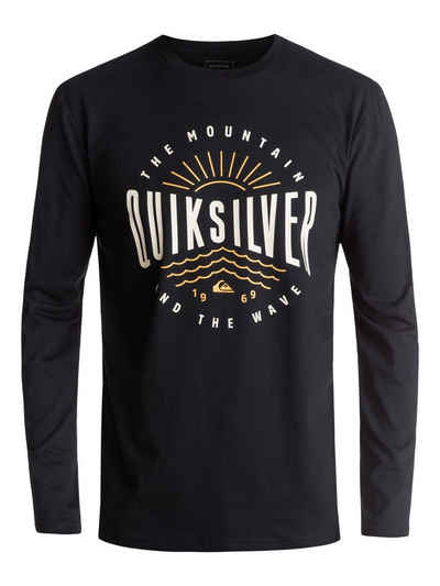 Groß Gaglow Angebote Quiksilver Longsleeve »Classic Mad Wave«