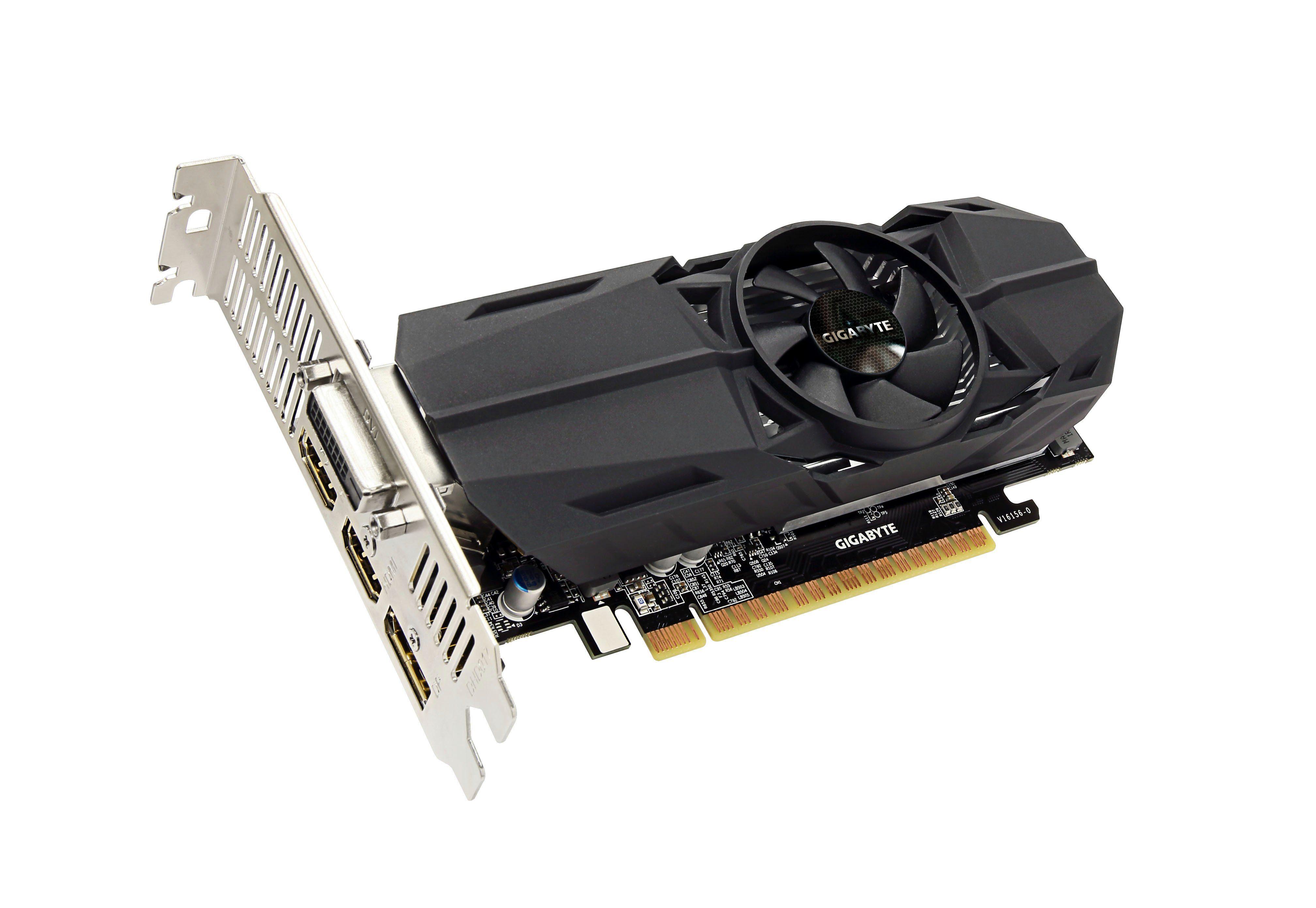 GIGABYTE Grafikkarte GeForce® GTX 1050 Ti OC Low Profile 4GB »GV-N105TOC-4GL«