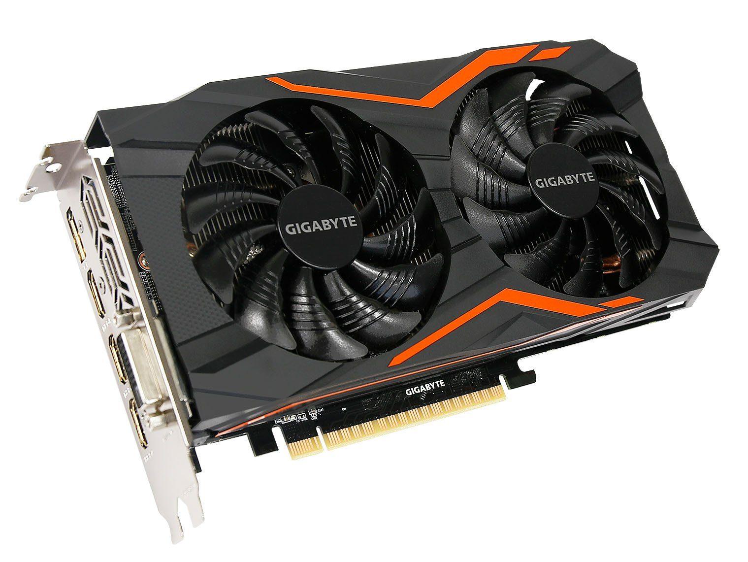 GIGABYTE Grafikkarte NVIDIA GeForce® GTX 1050 Gaming 2GB »GV-N1050G1 GAMING-2GD«