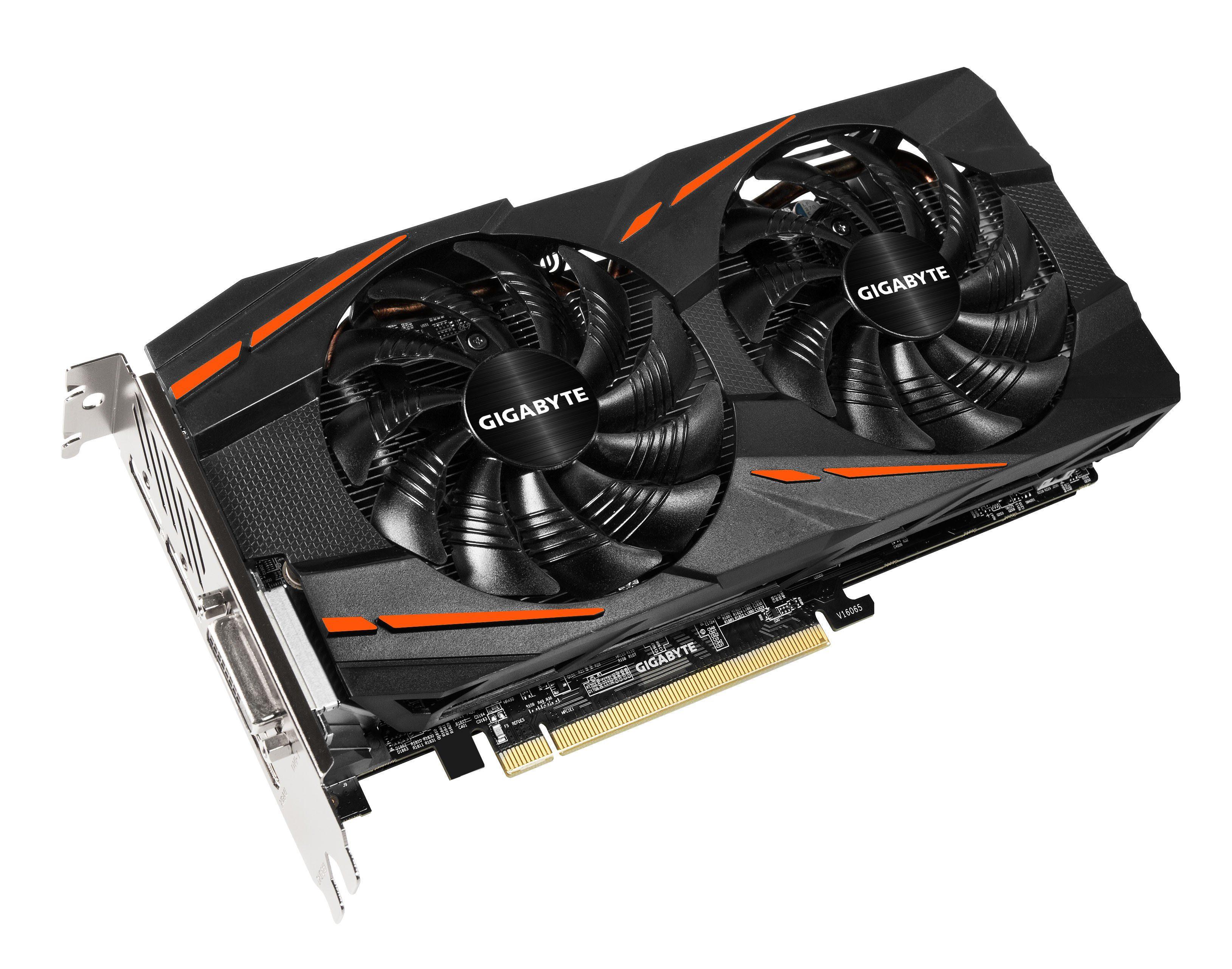GIGABYTE Grafikkarte AMD Radeon™ RX570 Gaming 4GB GDDR5 256Bit »GV-RX570GAMING-4GD«