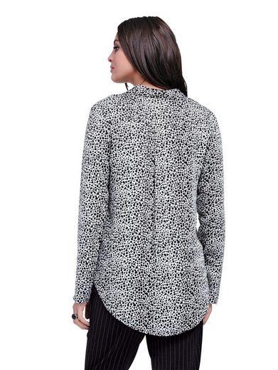 Alba Moda Bluse aus weichem Viskose Satin