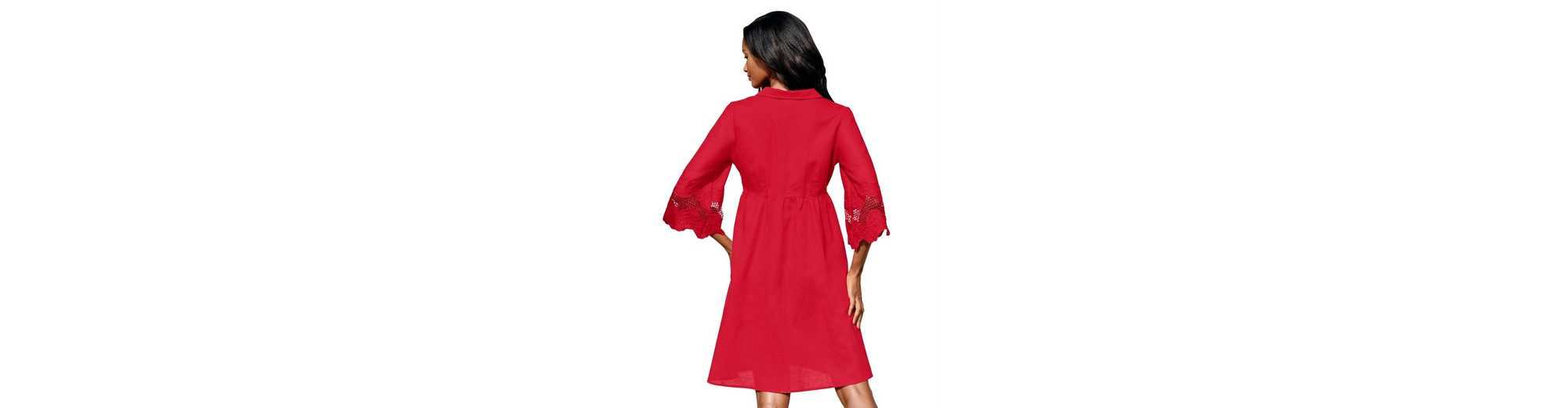 Alba Moda Strandkleid Kleid mit Leinenanteil Billig Sehr Billig wZ358