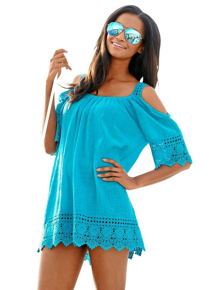 Alba Moda Strandtop Strandtop in Off-Shoulder-Optik