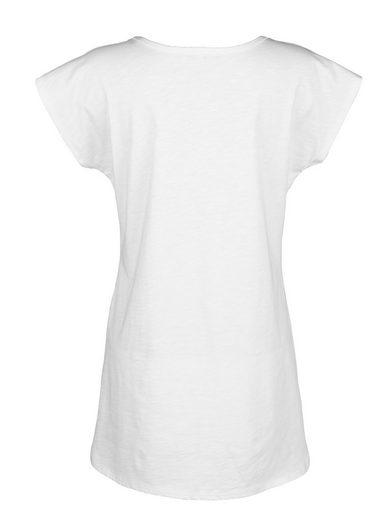 Alba Moda T-Shirt Shirt aus Flamé-Ware