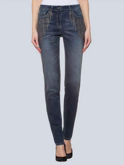 Узкие джинсы Alba Moda
