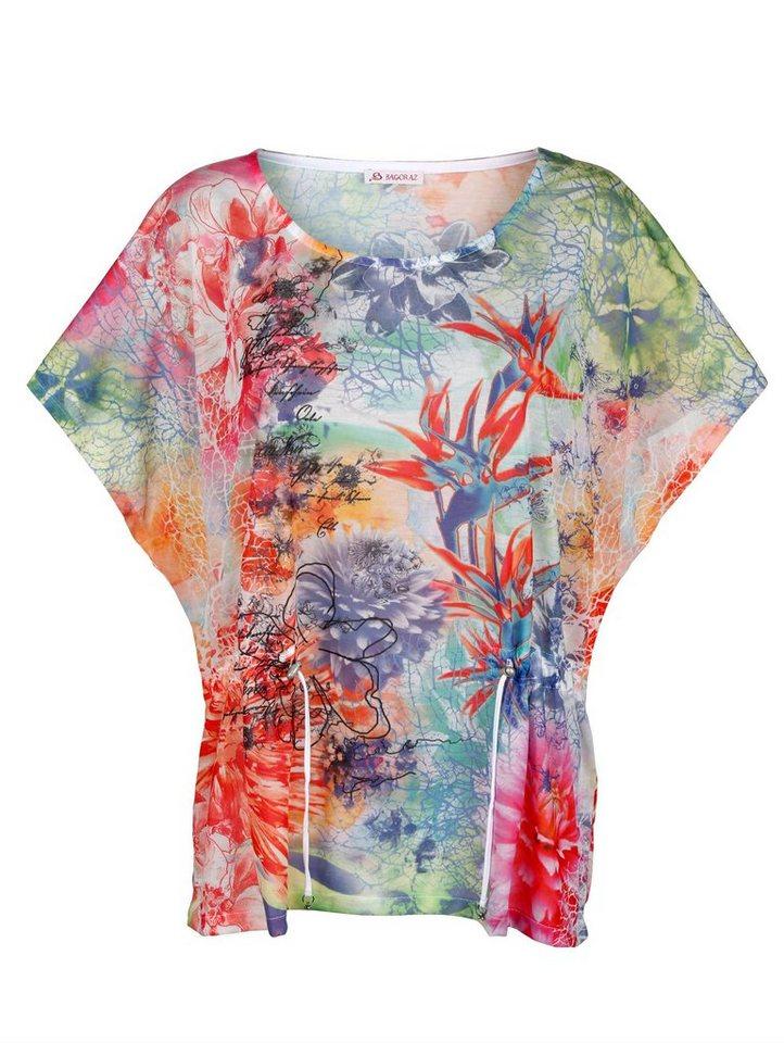 Damen Alba Moda  Tunikashirt mit Fantasiedruck bunt,  mehrfarbig | 04055715297456