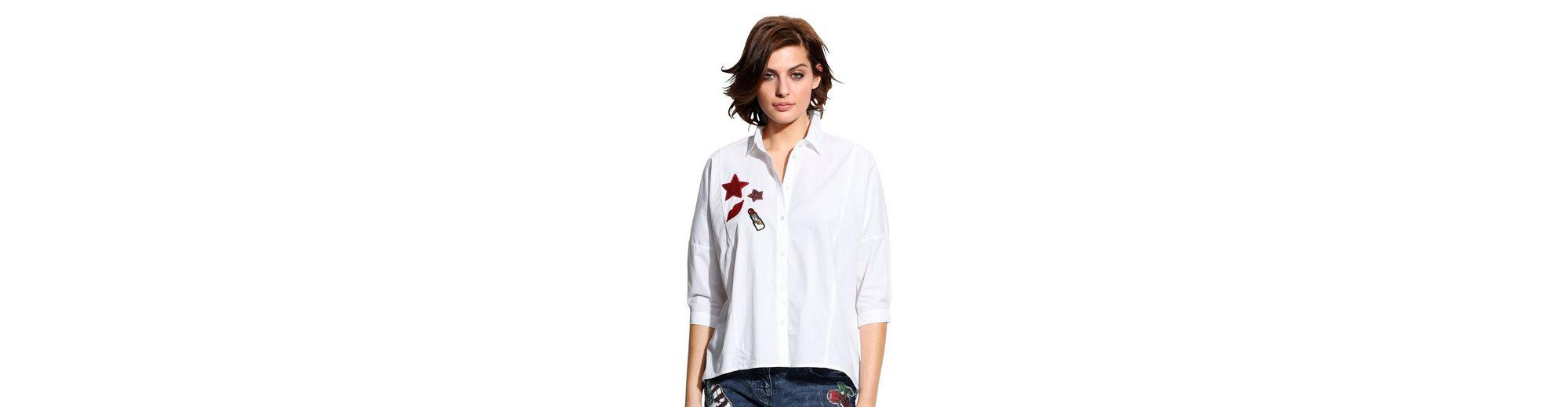 Alba Moda Kimonobluse mit Applikationen Angebote Günstiger Preis 7H5fI2l