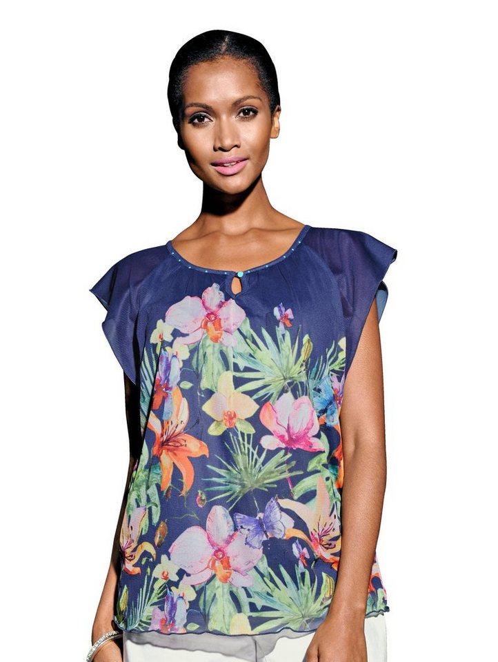 Alba Moda Strandshirt mit eingenähtem Top