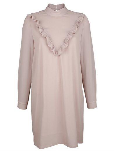 Alba Moda Volantskleid in femininer Aufmachung