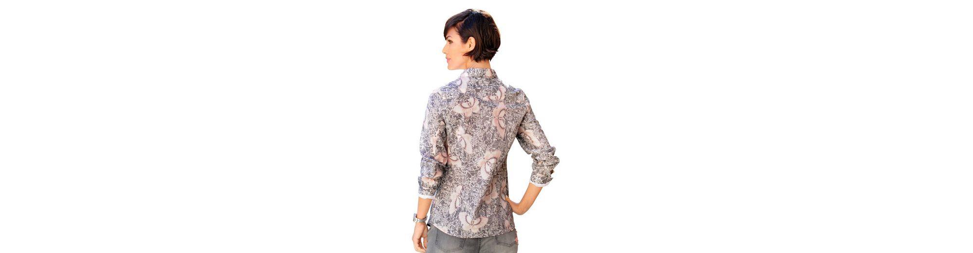 Billigshop Alba Moda Hemdbluse mit femininem Druckdessin Angebote Zum Verkauf Verkauf 2018 Neueste Websites Online-Verkauf Rabatt Neueste hQeQZs