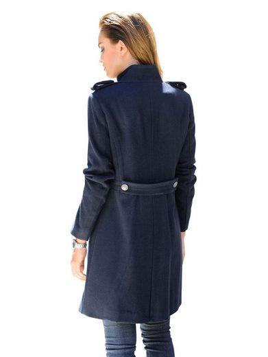 Alba Moda Coat En Laine De Qualité Supérieure