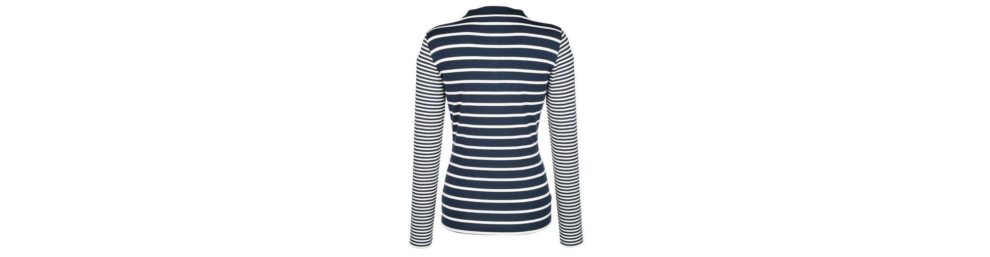 Alba Moda Poloshirt im Ringeldessin Rabatte Freies Verschiffen Exklusiv wCyxRlZ
