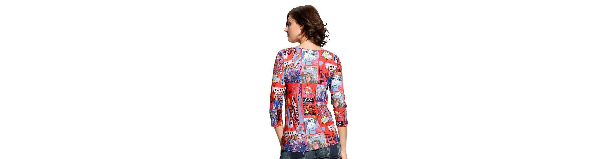 Alba Moda Druckshirt im Popart-Druck allover Rabatt Fabrikverkauf Neuester Günstiger Preis Footlocker Bilder Outlet Online-Shop fkd1KH7