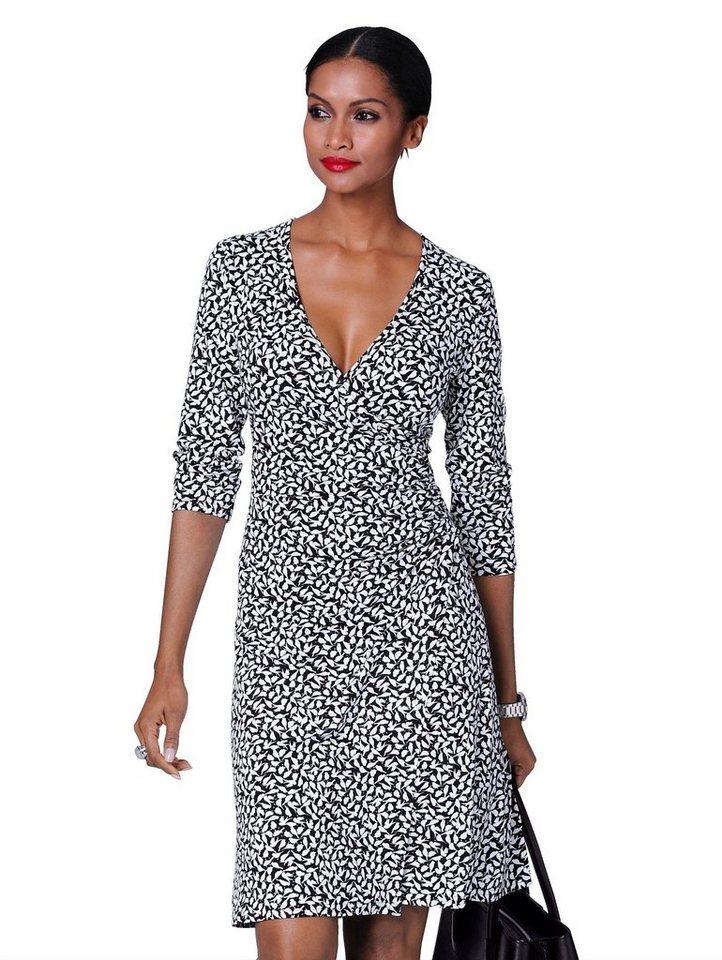 alba moda kleid mit schwalben print online kaufen  otto