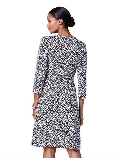 Alba Moda Jerseykleid mit Schwalben-Print
