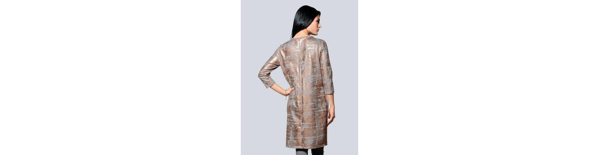 2018 Online Extrem Verkauf Online Alba Moda Kleid mit Metallic-Print juETI