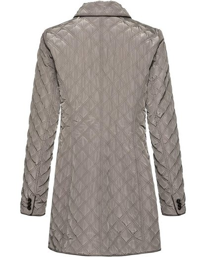 Diamond-quilted Jacket High Moor Long