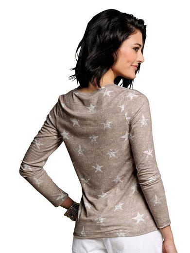Alba Moda Shirt Avec Imprimé Étoiles