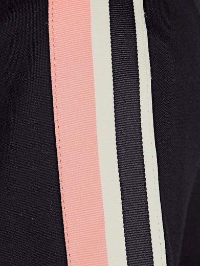 Alba Moda Blusenshirt mit dekorativem Ripsband
