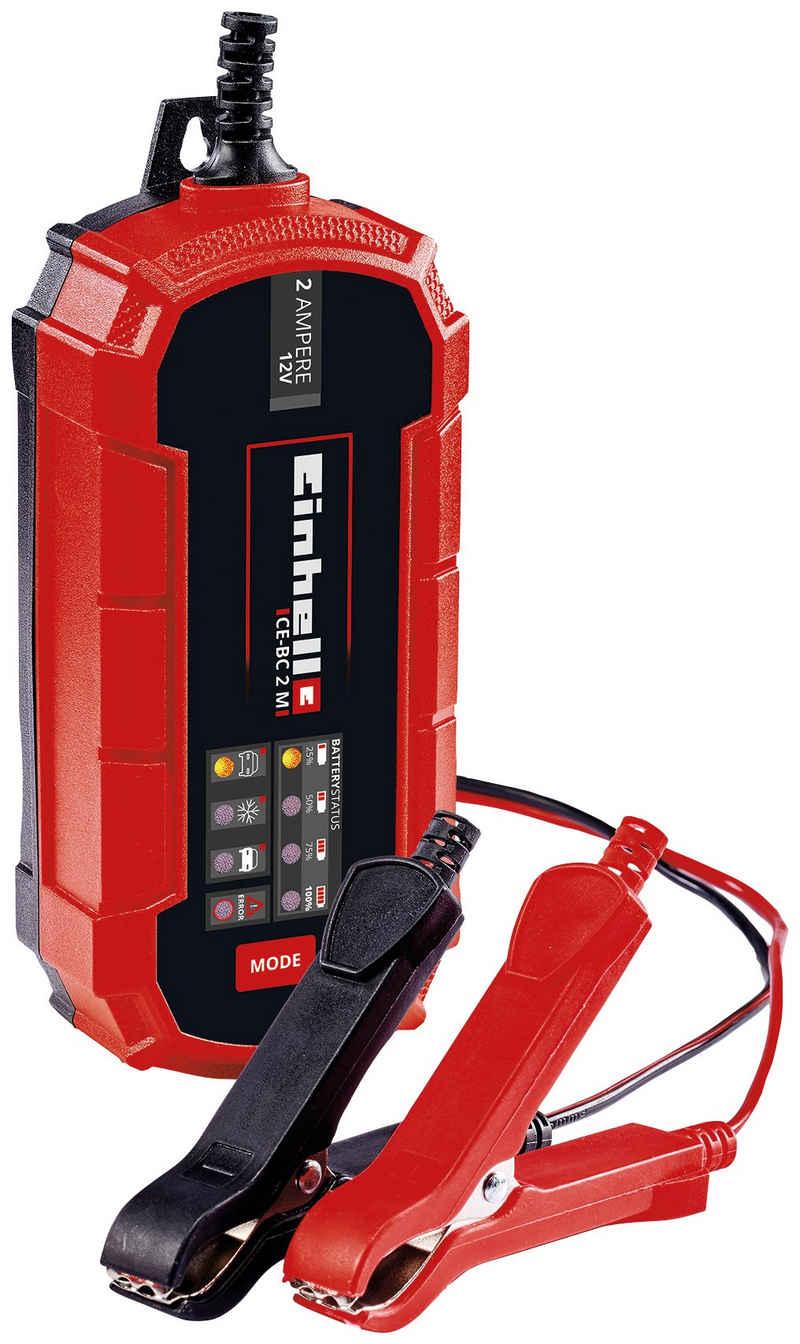 Einhell »CE-BC 2 M« Autobatterie-Ladegerät (2000 mA, 12 V, 2 A)