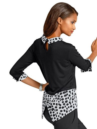 Alba Moda Blusenshirt in schöner Viskosemischung